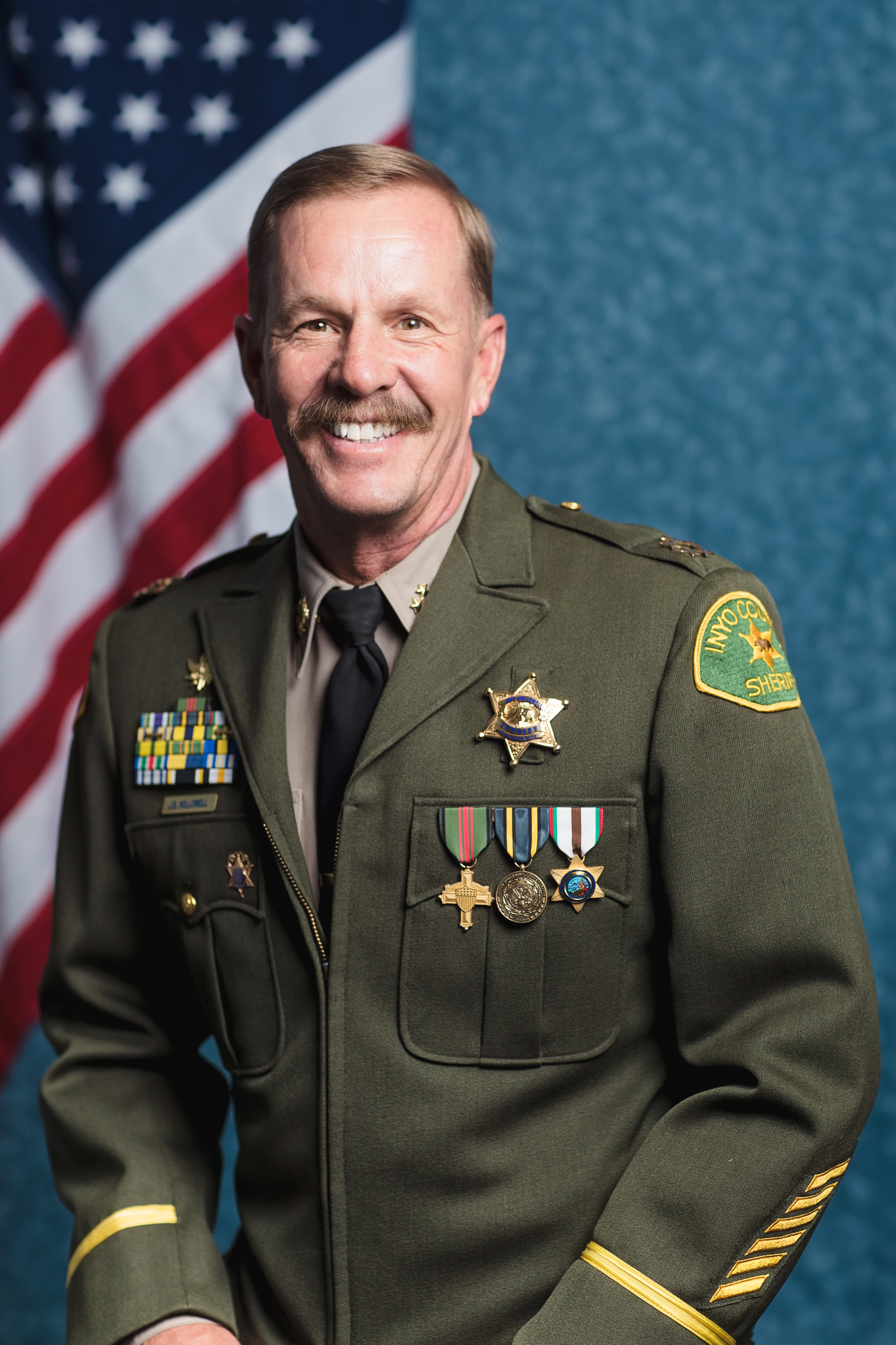 Portrait of Sheriff Jeff R. Hollowell