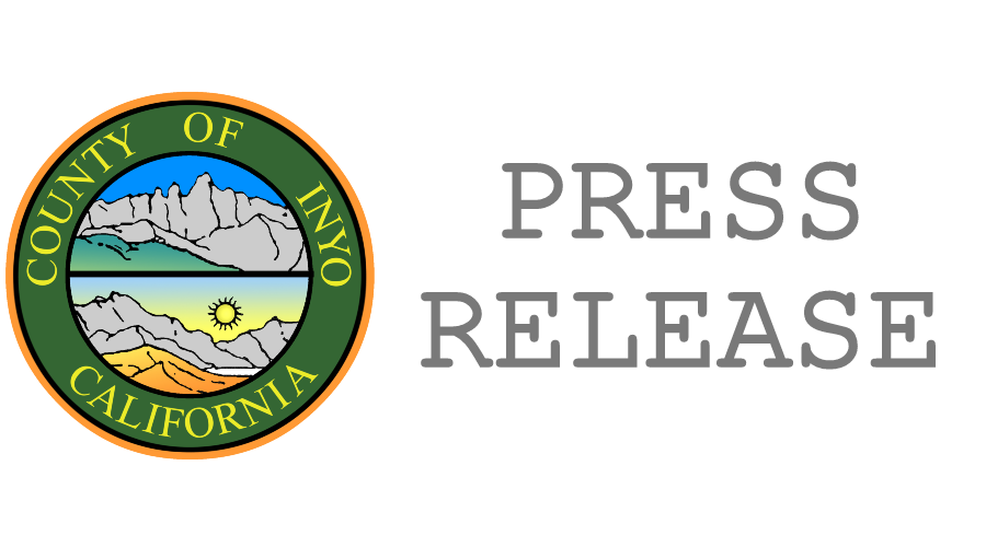 Inyo County Press Release
