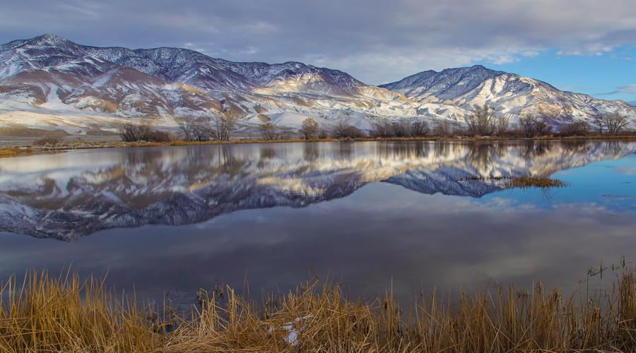 Inyo County Mt Reflection