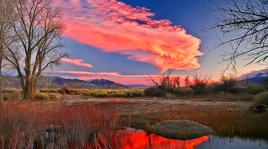Inyo County Reflecting Pond