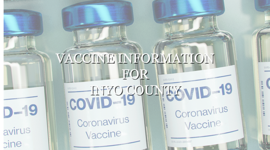 Vaccine Information for Inyo County