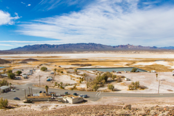 Scenic picture of Tecopa Hot Springs Campground