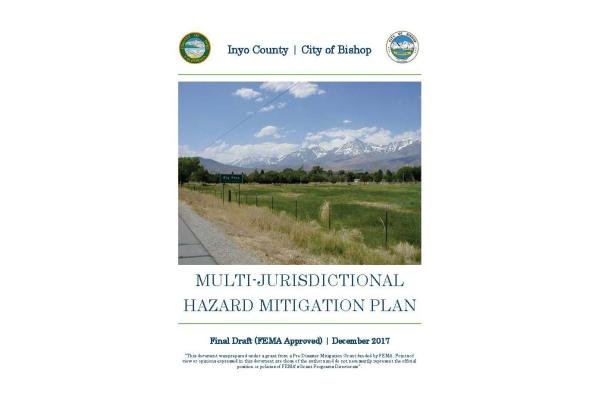 Inyo County-City of Bishop Multi-Jurisdictional Hazard Mitigation Plan