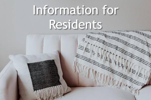 Information for Residents